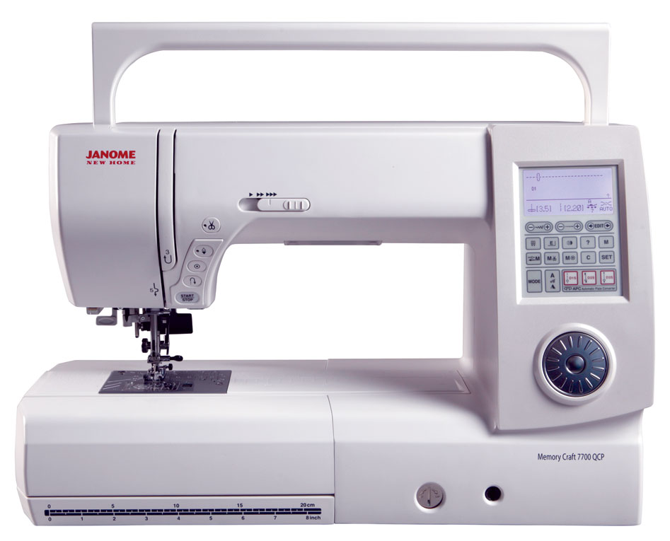 Janome New Home 7700 - Handle Up