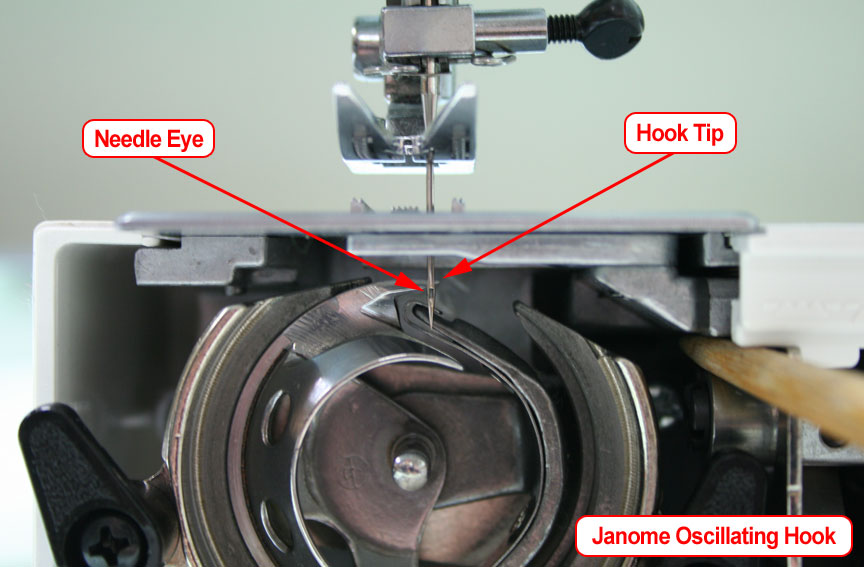 Janome Oscillating Hook Timing