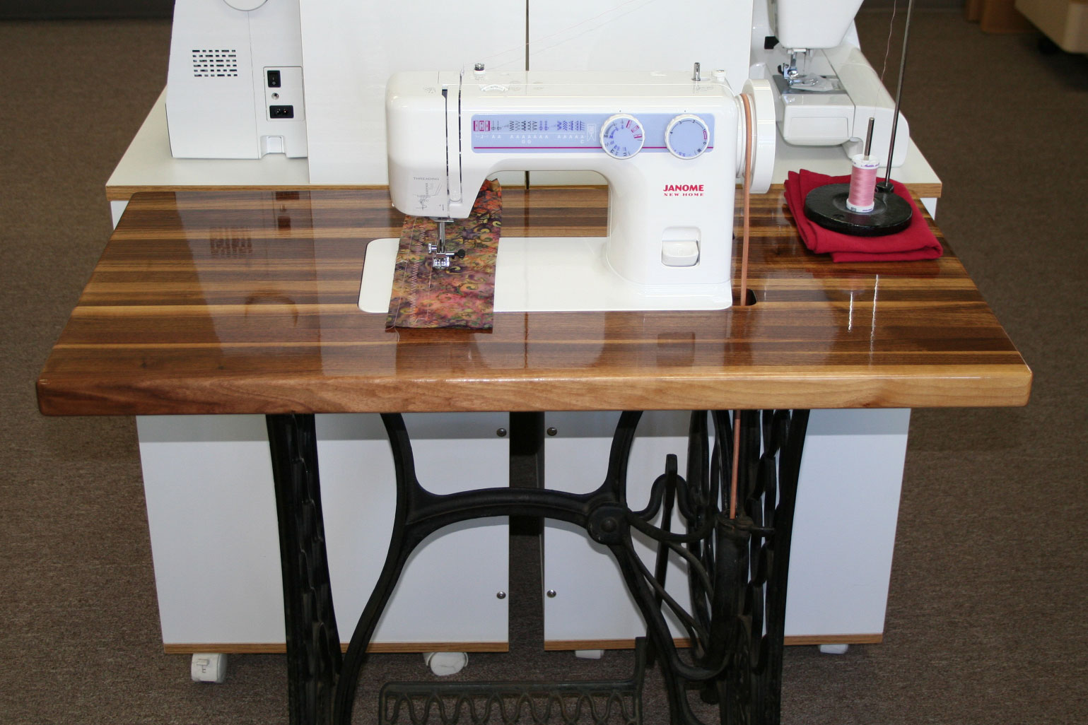 Janome Treadle Sewing Machine Cabinet Cabinets Matttroy