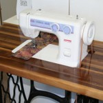 Janome 712T Treadle Sewing Machine Table