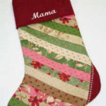 Jolly Christmas Stocking No Embroidery - Small