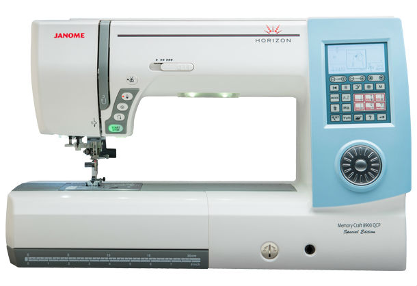 Janome Horizon Memory Craft 8900QCP Special Edition Sewing Machine + Bonus