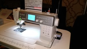 Janome 6700 Sewing Machine - Angled View