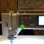 Janome 6700 Sewing Machine - Front Left Area
