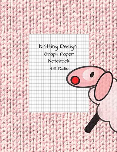 Knitting Design Graph Paper Notebook 4 5 Ratio Blank Knitting
