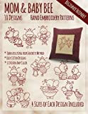 Mother and Baby Bee Hand Embroidery Patterns