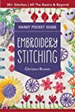 Embroidery Stitching Handy Pocket Guide: 30+ Stitches • All The Basics & Beyond