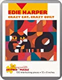 Edie Harper - Crazy Cat Quilt: 100 Piece Puzzle (Pomegranate Artpiece Puzzle)